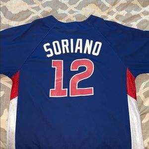 Soriano #12 Cubs Jersey